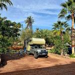 Unser Campingplatz in Mulege.
