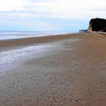 Bei Ebbe ist der Nordstrand endlos breit, wunderbar für Strandspaziergänge.