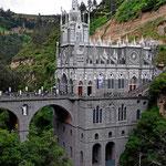 Die Wallfahrtskirche Las Lajas.