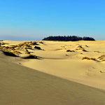 Die Origon Dunes, man fühlt sich ein bißchen wie in der Sahara.