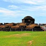Das spanische Fort im Nationalpark San Lorenzo.
