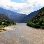 Der Rio Chicamocha.