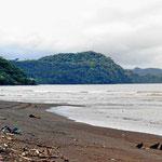 Die Bucht von Tarcoles.