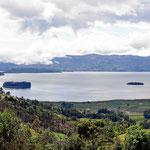 Die Laguna de Tota. Sie liegt auf 3050 m Höhe.