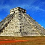 Eine andere Ansicht der Pyramide.