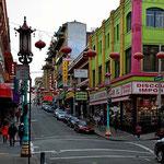 Die China Town von San Franzisco.