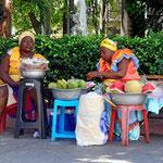 Menschen in Cartagena.