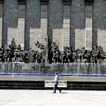 Monumentaler Denkmäler sind eine Spezialität.