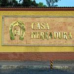 Unds das ist sie, die Edelbrennerei Casa Herradura.