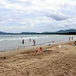Playa Avellana - selbst bei Windstille kann man hier surfen.