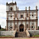 Die Missionskirche von San Ignacio aus dem 18. Jahrehundert.
