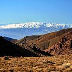 Blick zurück von der Titus Canyon Road aufs Death Valley.