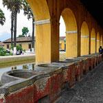 Das alte Waschhaus von Antigua