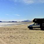 Die Küste vor San Felipe.