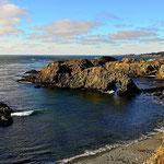 Kalifornische Küstenlandschaft.