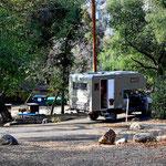 Bei solchen Plätzen geht man gerne auf die staatlichen Campingplätze.