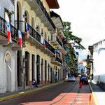 Die Altstadt von Panama City.