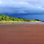 Ein endloser Strand.