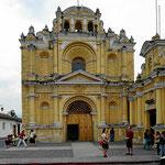 Eine der wenigen erhaltenen Kirchen von Antigua
