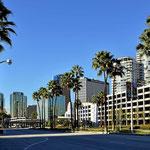 Die Innenstadt von Long Beach.