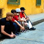 Straßenmusikanten.