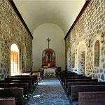 Die Missionskirche von Mulege - das Innere.