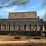 Eine andere Ansicht des Tempels der Krieger.