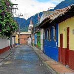 Straßen in Candelaria.