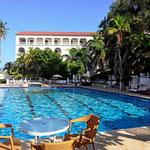 Unserer Relaxingort im Hotel Caribe nach einem Cartagena-Bummel.