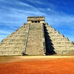 Die Pyramide von Kukulcán (El Castillo)
