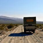 Fahrt durchs Death Valley.