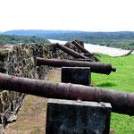 Die Kanonen des Forts - sicherlich einfach so hingestellt.