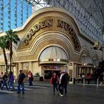 Das Golden Nugget, eines der ersaten Casinos in Las Vegas,