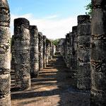 Wir haben nicht gezählt, aber tausend Säulen können es sein.