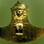 Das Goldmuseum in Bogota.