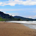 Der Strand von Dominicalito, eine Bucht weiter.