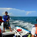 Bootstour nach Tulum und zum Schnorcheln.