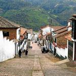 Straße in Mongui.