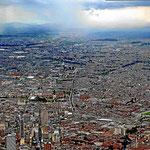 Bogota von oben.