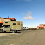 Wir müssen wieder nach Quilotoa zurück, unser Übernachtungsplatz im Ort.