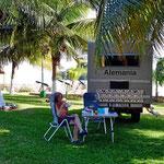 Das Yax-Hal-Resort, einer der chönsten Campingplätze auf der Yukatan-Halbinsel