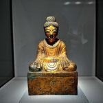 Aus dem ostasiatischen Museum in San Franzisco. Eine der weltweit ältesten Budda Statuen (2. Jhrhrt).