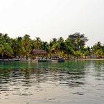 Wir fahren über die Cayes, reine Südseeträume.