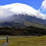 Es ist der schönste Vulkan in Ecuador.