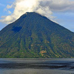 Abschied vom Vulkan San Pedro.