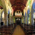 Und dann kommen die goldgeschmückten Kirchen von Quito.