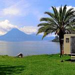 Unser Traumplatz am Lago de Atitlan