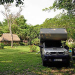 Der Campingplatz der Finca Ixobel.