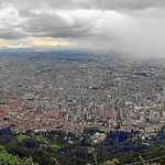 Überblick auf Bogota.
