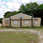 Auch das gibt es hier, eine Schutzhütte für Hurikans.